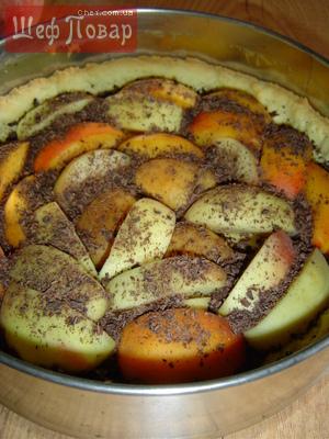 Кекс творожный с персиками рецепт