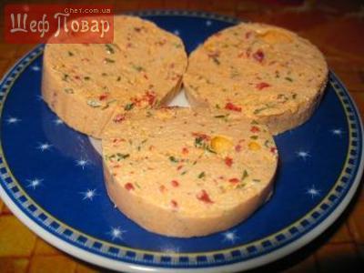 Творожно-колбасный  сыр