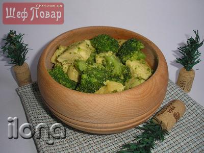 рецепты из брокколи вкусные и простые салаты
