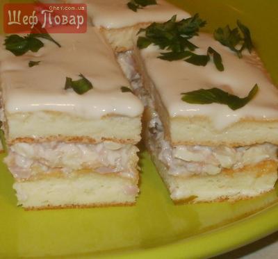 Закусочные пирожные
