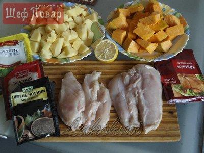 Картошка в духовке с майонезом и чесноком с курицей рецепт с фото пошагово в