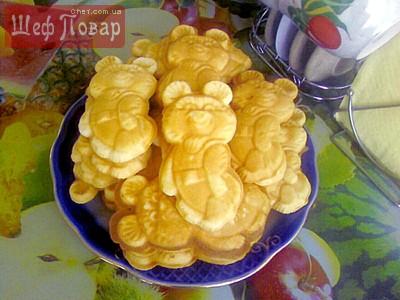 выпечка рецепты с фото печенье олимпийский мишка