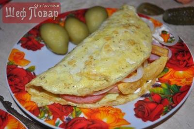 Ну ОЧЕНЬ ВКУСНЫЙ завтрак!!