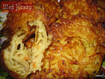 Картопляники рецепт пошагово
