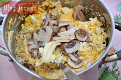Яица и кукуруза какой салат можно приготовить