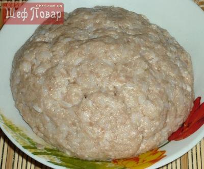 Рецепт тефтелей из фарша и риса с подливкой в духовке