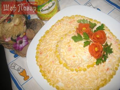 салаты рецепты с фото шляпка