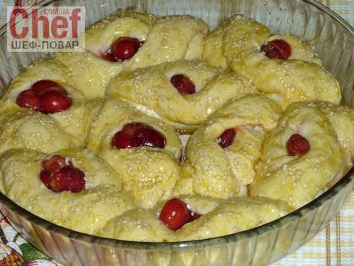 Ягодный дрожжевой пирог рецепт с