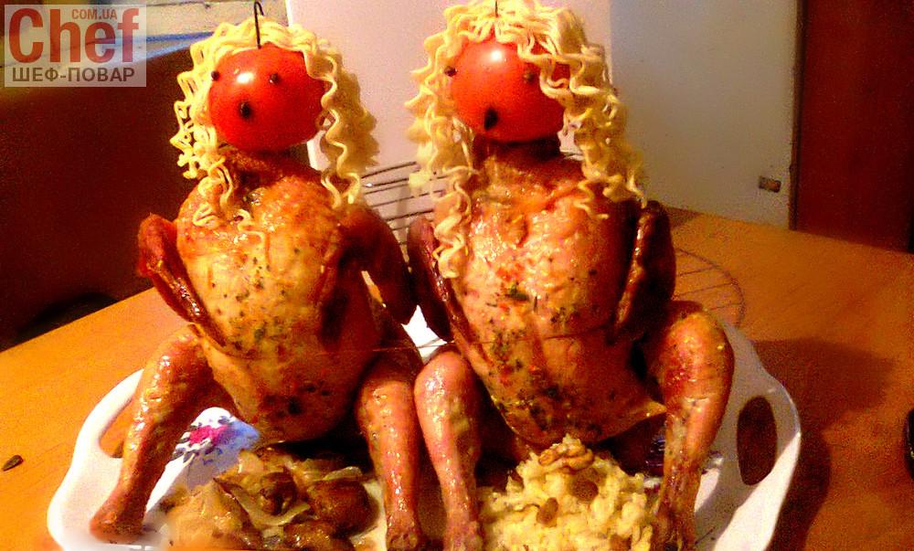 блюда из цыпленка рецепты с фото
