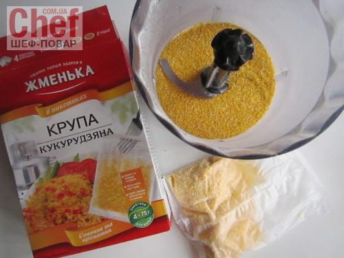 выпечка из кукурузной крупы рецепты с фото