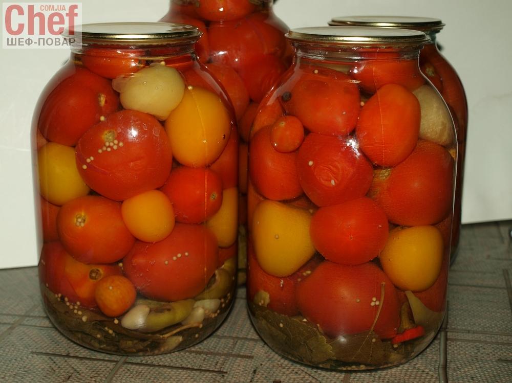 на Маринованные горчицей с французской помидоры зиму