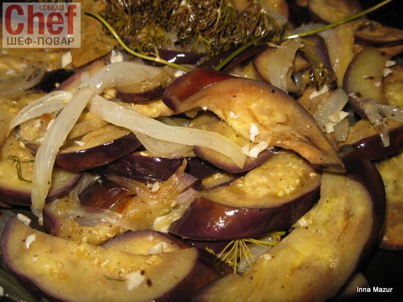 Закуска из баклажан (быстрый рецепт)