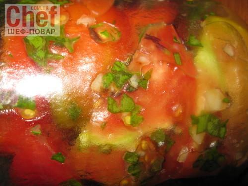 Быстрые маринованные помидоры холодным способом