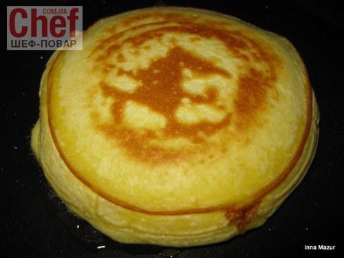 На завтрак   панкейк !