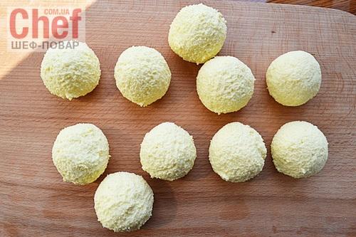 Гомбовцы из сыра (Закарпатская кухня)
