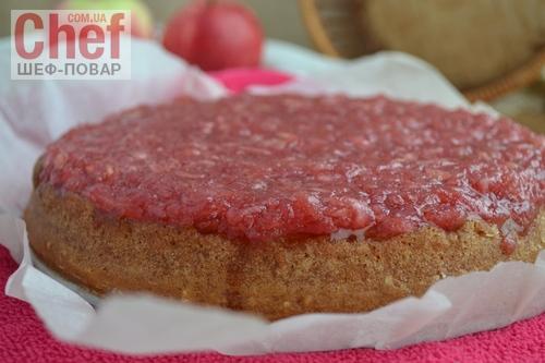 Торт с яблочным и сметанным желе (+Видео)