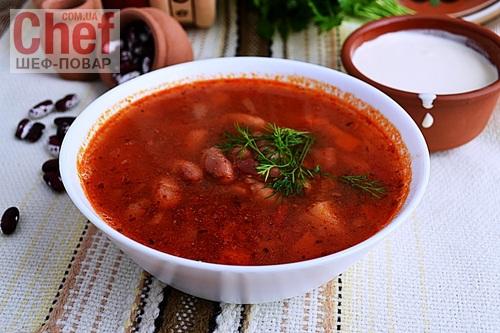 Суп из фасоли и картофеля (Видео)