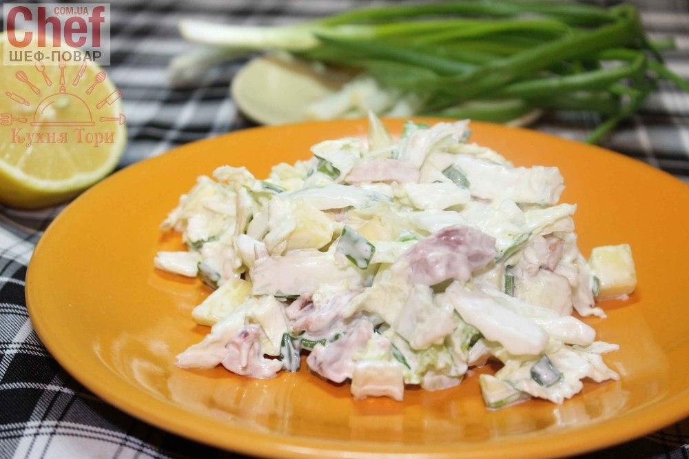 Онлайн рецепт простых салатов фото