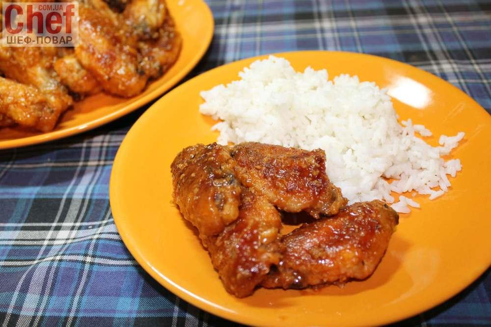 Блюда из куриных крылышек рецепты с фото простые и вкусные