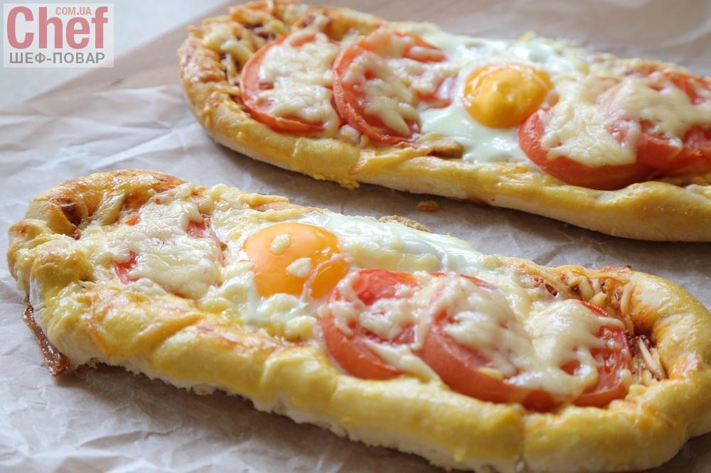 колбаса с яйцом в духовке рецепт с фото