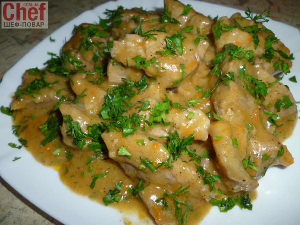 Блюдо из жареных кабачков фото