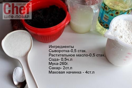 Сладкая выпечка с маком в хлебопечке рецепты 121