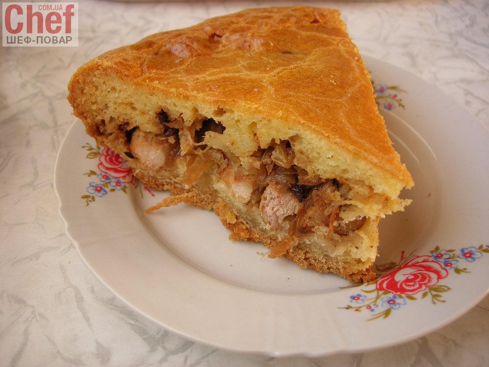 Мясных пироги рецепты простые 72