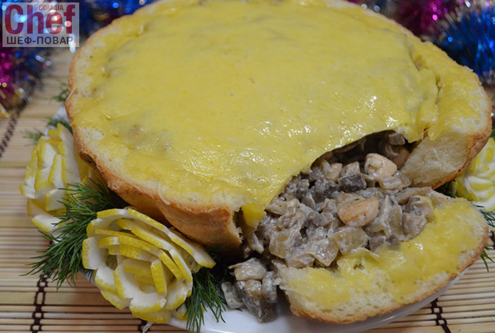 Рецепт легкой закуски на хлебцах