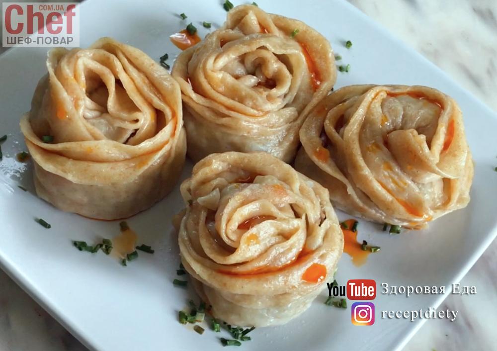 розы из мясной бекона Рецепт