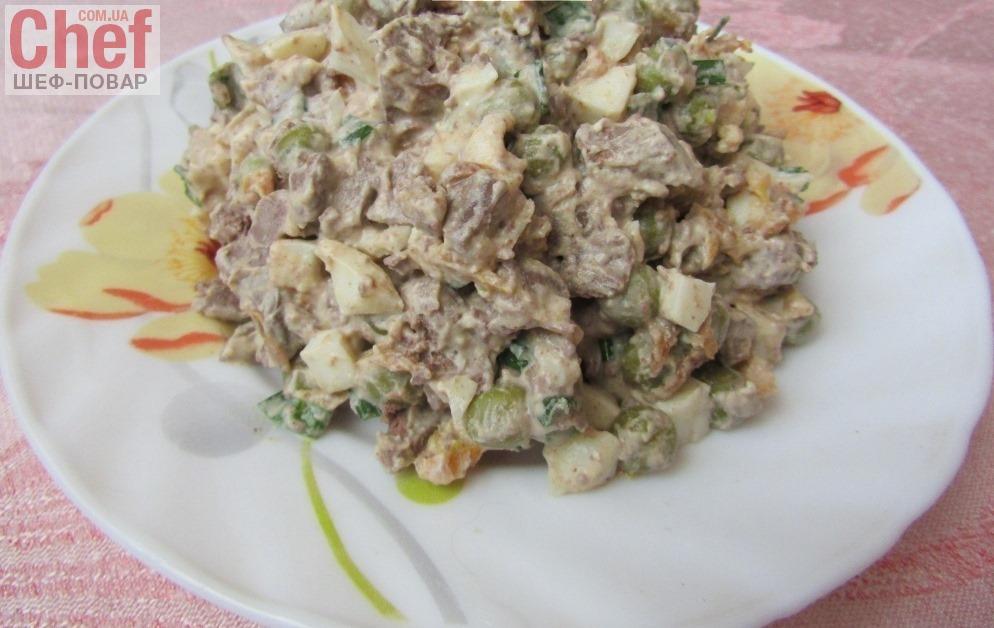 салаты из печени куриной рецепты с фото простые и вкусные