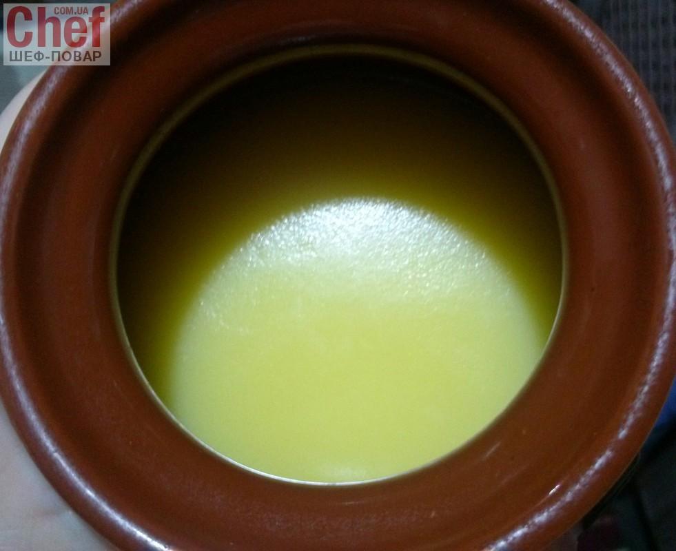 Топлене масло або масло ГХІ