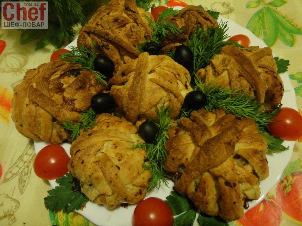 Праздничное блюдо на новый год горячее блюдо