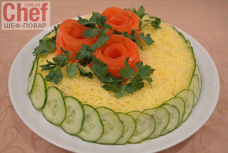 Праздничный салат летний на день рождения рецепты с